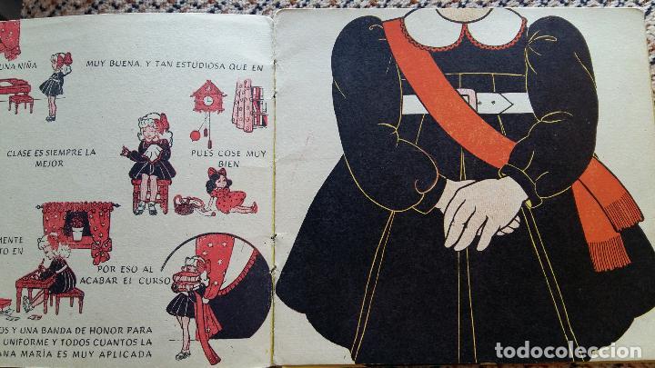 Libros de segunda mano: LAS VACACIONES DE JUANA MARIA. NARRACION DE LEONOR DEL CORRAL. VESTIDOS INTERCAMBIABLES. MOLINO 1943 - Foto 2 - 98788083