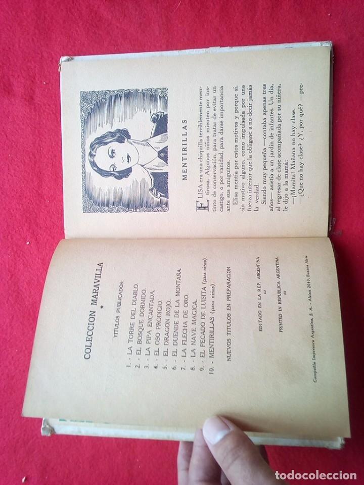 Libros de segunda mano: MENTIRILLAS 24 CMS 64 PGS 350 GRS AÑOS 40 VER FOTOS - Foto 6 - 98940227