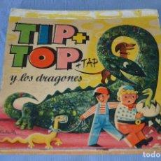 Libros de segunda mano: TIP + TOP + TAP Y LOS DRAGONES - V. KUBASTA Y BANCROFT & CO. 1965 - CUENTO Y DIORAMA ¡RARO! ¡MIRA!. Lote 99147935