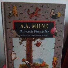 Libros de segunda mano: HISTORIAS DE WINNY DE PUH - A.A. MILNE - VALDEMAR - AVATARES Nº 40 -. Lote 99235783