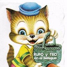 Libros de segunda mano: == RR157 - CUENTO TROQUELADO - RUFO Y TEO EN EL BOSQUE - VILMAR EDICIONES. Lote 99354811