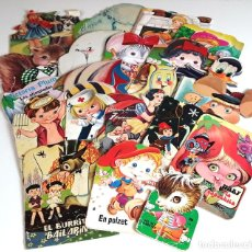 Libros de segunda mano: LOTE DE 21 CUENTOS TROQUELADOS. VARIOS AUTORES. VARIAS EDITORIALES. 1954/2004.. Lote 99435979