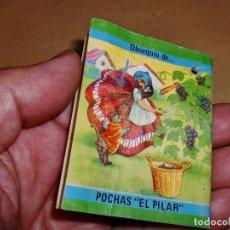 Libros de segunda mano: MARAVILLOSO LIBRITO - CUENTO PUBLICITARIO DE -POCHAS... EL PILAR.... Lote 99563171