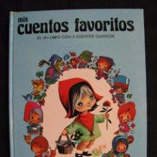 Libros de segunda mano: MIS CUENTOS FAVORITOS - Nº 1 - ES UN LIBRO CON 2 CUENTOS CLASICOS - EDITORIAL ROMA.. Lote 100072151