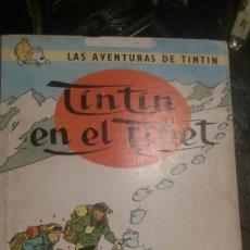 Libros de segunda mano: TINTIN EN EL TIBET 1967. Lote 100397888