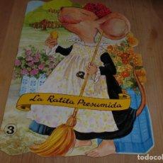 Libros de segunda mano: LA RATITA PRESUMIDA - TROQUELADO - EDITORIAL ESIN. Lote 100404375