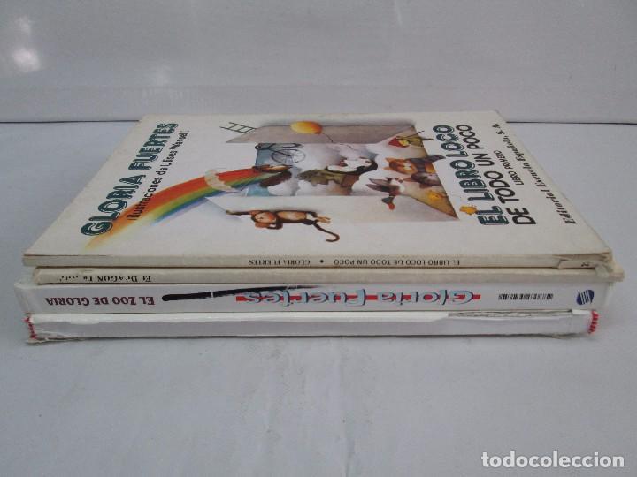 Libros de segunda mano: GLORIA FUERTES. EL DRAGON TRAGON. EL LIBRO LOCO. VERSOS FRITOS. ANIMALES QUE CORREN, VUELAN.. - Foto 2 - 100545583