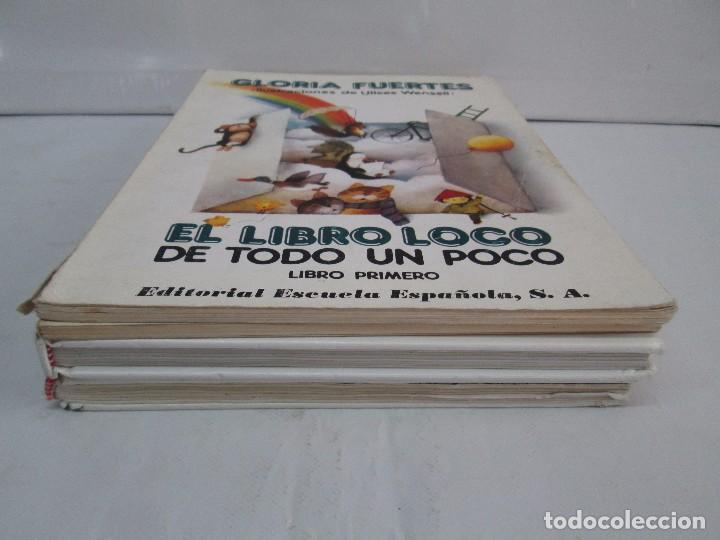 Libros de segunda mano: GLORIA FUERTES. EL DRAGON TRAGON. EL LIBRO LOCO. VERSOS FRITOS. ANIMALES QUE CORREN, VUELAN.. - Foto 3 - 100545583