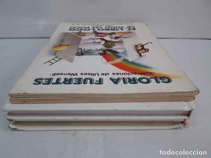 Libros de segunda mano: GLORIA FUERTES. EL DRAGON TRAGON. EL LIBRO LOCO. VERSOS FRITOS. ANIMALES QUE CORREN, VUELAN.. - Foto 5 - 100545583