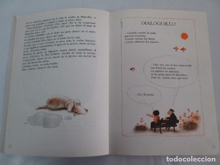 Libros de segunda mano: GLORIA FUERTES. EL DRAGON TRAGON. EL LIBRO LOCO. VERSOS FRITOS. ANIMALES QUE CORREN, VUELAN.. - Foto 10 - 100545583