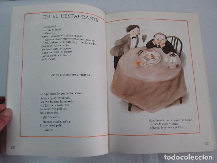 Libros de segunda mano: GLORIA FUERTES. EL DRAGON TRAGON. EL LIBRO LOCO. VERSOS FRITOS. ANIMALES QUE CORREN, VUELAN.. - Foto 11 - 100545583
