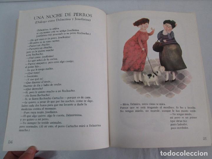 Libros de segunda mano: GLORIA FUERTES. EL DRAGON TRAGON. EL LIBRO LOCO. VERSOS FRITOS. ANIMALES QUE CORREN, VUELAN.. - Foto 12 - 100545583