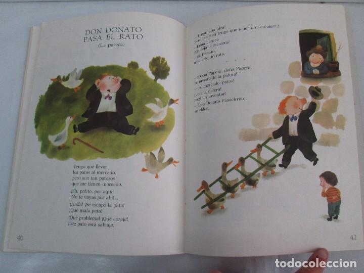 Libros de segunda mano: GLORIA FUERTES. EL DRAGON TRAGON. EL LIBRO LOCO. VERSOS FRITOS. ANIMALES QUE CORREN, VUELAN.. - Foto 13 - 100545583