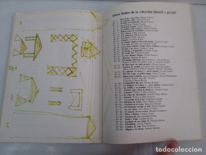 Libros de segunda mano: GLORIA FUERTES. EL DRAGON TRAGON. EL LIBRO LOCO. VERSOS FRITOS. ANIMALES QUE CORREN, VUELAN.. - Foto 14 - 100545583