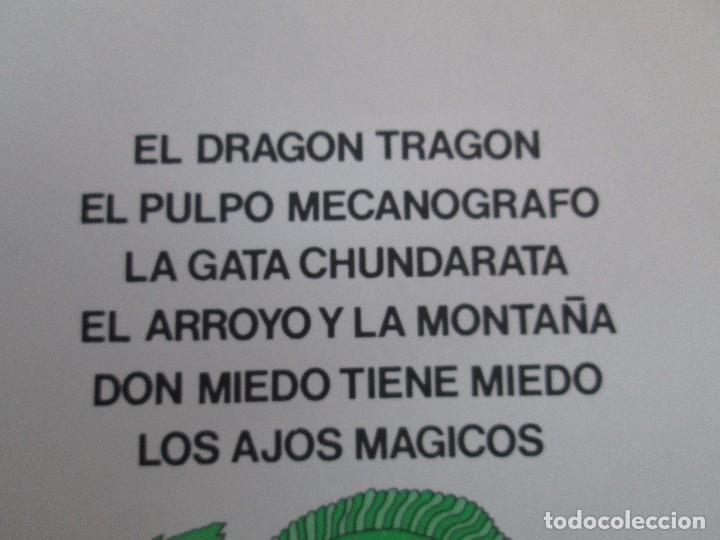 Libros de segunda mano: GLORIA FUERTES. EL DRAGON TRAGON. EL LIBRO LOCO. VERSOS FRITOS. ANIMALES QUE CORREN, VUELAN.. - Foto 20 - 100545583