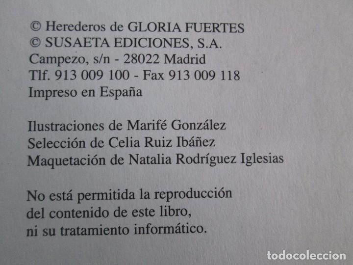 Libros de segunda mano: GLORIA FUERTES. EL DRAGON TRAGON. EL LIBRO LOCO. VERSOS FRITOS. ANIMALES QUE CORREN, VUELAN.. - Foto 27 - 100545583