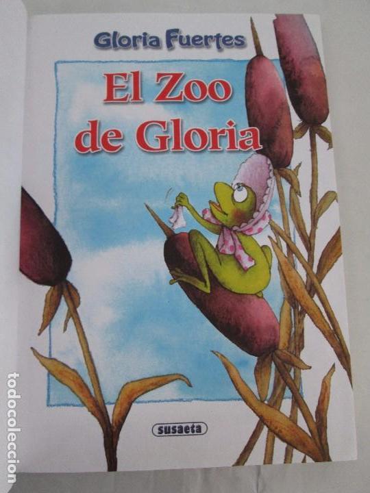 Libros de segunda mano: GLORIA FUERTES. EL DRAGON TRAGON. EL LIBRO LOCO. VERSOS FRITOS. ANIMALES QUE CORREN, VUELAN.. - Foto 28 - 100545583