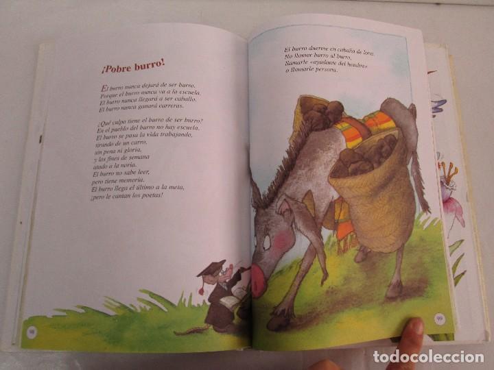 Libros de segunda mano: GLORIA FUERTES. EL DRAGON TRAGON. EL LIBRO LOCO. VERSOS FRITOS. ANIMALES QUE CORREN, VUELAN.. - Foto 33 - 100545583
