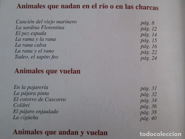 Libros de segunda mano: GLORIA FUERTES. EL DRAGON TRAGON. EL LIBRO LOCO. VERSOS FRITOS. ANIMALES QUE CORREN, VUELAN.. - Foto 34 - 100545583