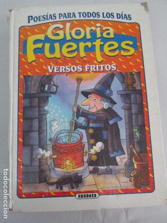 Libros de segunda mano: GLORIA FUERTES. EL DRAGON TRAGON. EL LIBRO LOCO. VERSOS FRITOS. ANIMALES QUE CORREN, VUELAN.. - Foto 38 - 100545583