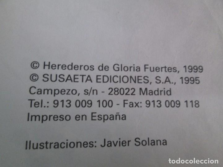 Libros de segunda mano: GLORIA FUERTES. EL DRAGON TRAGON. EL LIBRO LOCO. VERSOS FRITOS. ANIMALES QUE CORREN, VUELAN.. - Foto 39 - 100545583