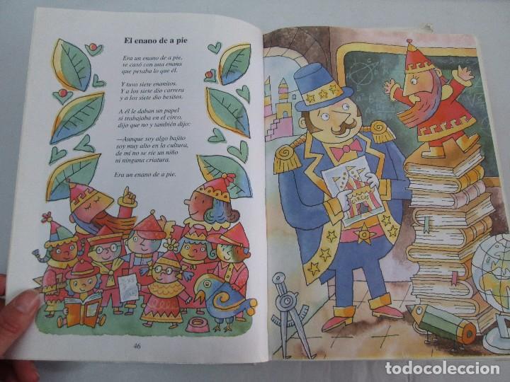 Libros de segunda mano: GLORIA FUERTES. EL DRAGON TRAGON. EL LIBRO LOCO. VERSOS FRITOS. ANIMALES QUE CORREN, VUELAN.. - Foto 46 - 100545583