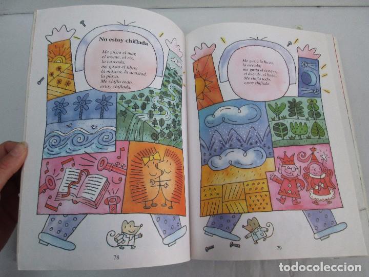 Libros de segunda mano: GLORIA FUERTES. EL DRAGON TRAGON. EL LIBRO LOCO. VERSOS FRITOS. ANIMALES QUE CORREN, VUELAN.. - Foto 47 - 100545583