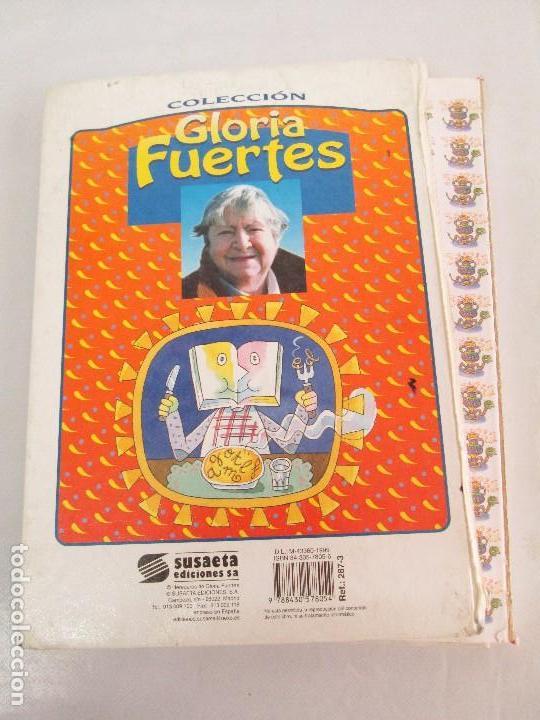 Libros de segunda mano: GLORIA FUERTES. EL DRAGON TRAGON. EL LIBRO LOCO. VERSOS FRITOS. ANIMALES QUE CORREN, VUELAN.. - Foto 53 - 100545583