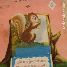 Libros de segunda mano: CUENTO COLEC.TIPITOS EN BANDEJA - AÑO 1952 - Nº6 - ILUST. SAMPER - ED.LINSA LIBROS INFANTILES S.A.. Lote 100618459