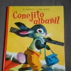 Libros de segunda mano: CONEJITO ALBAÑIL-EDITORIAL JUVENTUD 1961. Lote 100733855