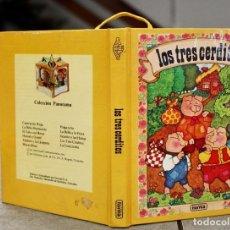 Libros de segunda mano: LOS TRES CERDITOS. CUENTO POP UP. EDITORIAL NORMA. COLECCION PANORAMA.. Lote 101075515