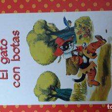 Libros de segunda mano: EL GATO CON BOTAS RBA TAPA DURA COLOR. Lote 101110459
