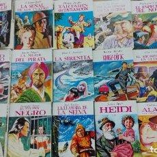 Libros de segunda mano: LOTE 29 NUMEROS DE LA MINI BIBLIOTECA DE LA LITERATURA UNIVERSAL - EDITORIAL EDELVIVES - 1982. Lote 101162115
