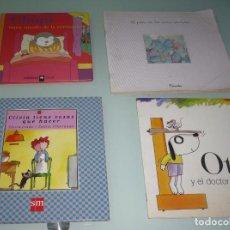 Libros de segunda mano: LOTE DE 4 CUENTOS.. Lote 101171011