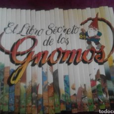 Libros de segunda mano: EL LIBRO SECRETO DE LOS GNOMOS. COLECCION COMPLETA 25 TOMOS. Lote 101182324