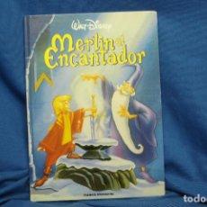Libros de segunda mano: MERLIN EL ENCANTADOR - WALT DISNEY - PLANETA DE AGOSTINI 1996. Lote 101324583