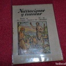Libros de segunda mano: NARRACIONES Y CUENTOS - ED. LUMEN .- SERIE A - NÚMERO 11 - MINIATURA. Lote 101417275