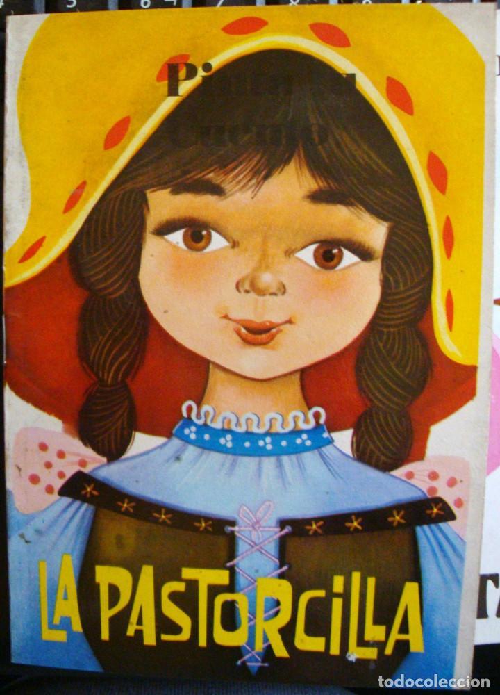 Libros de segunda mano: 11 cuentos preciosos mini la pastorcilla-Cenicienta- el perrito curioso Antalbe 1980 pinta tu cuento - Foto 2 - 101612347