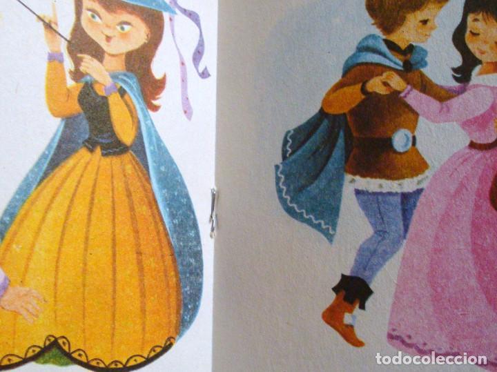 Libros de segunda mano: 11 cuentos preciosos mini la pastorcilla-Cenicienta- el perrito curioso Antalbe 1980 pinta tu cuento - Foto 3 - 101612347
