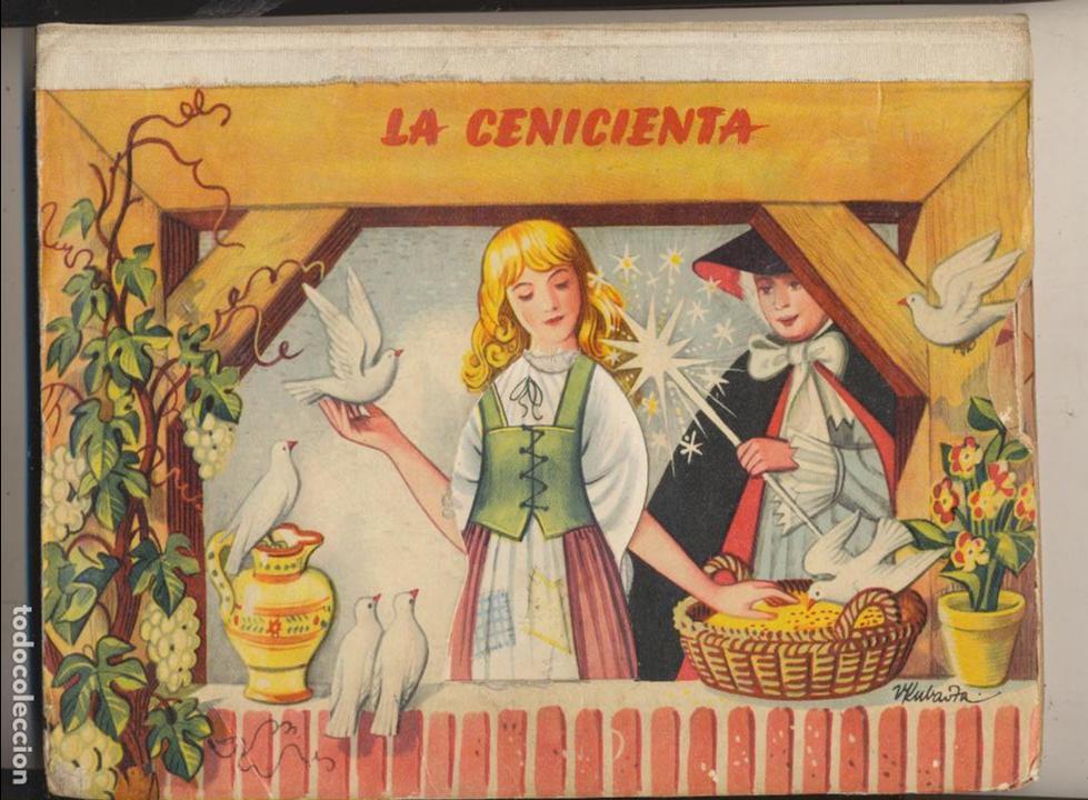 LA CENICIENTA. CUENTO TROQUELADO DESPLEGABLE.(26X20) CON 8 BELLAS ESCENAS. RARO... (Libros de Segunda Mano - Literatura Infantil y Juvenil - Cuentos)