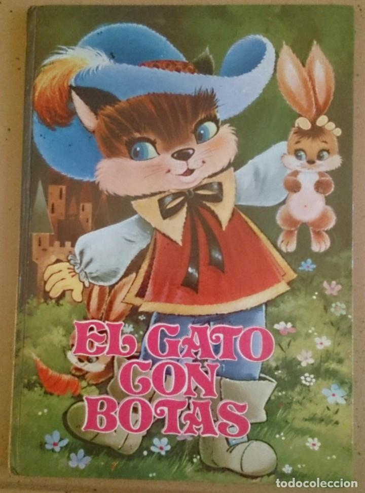 EL GATO CON BOTAS EDICIONES PETRONIO 1975 CUENTO (Libros de Segunda Mano - Literatura Infantil y Juvenil - Cuentos)