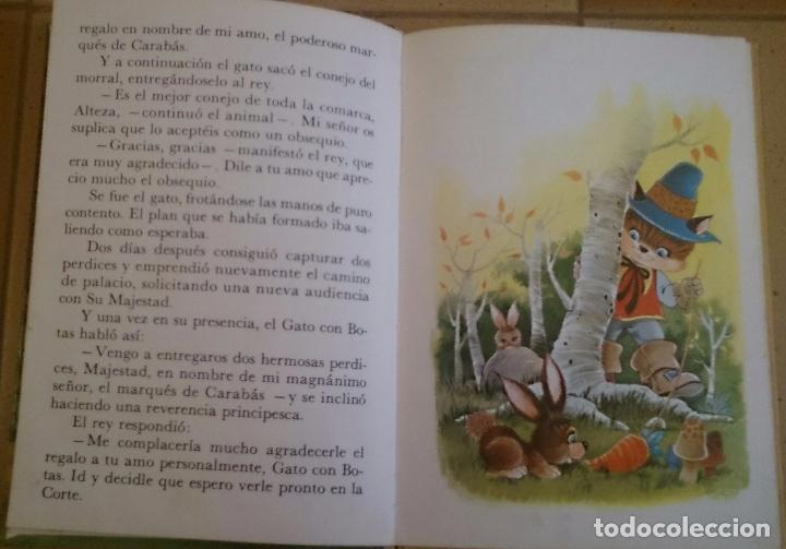 Libros de segunda mano: El Gato con Botas Ediciones Petronio 1975 cuento - Foto 2 - 101762047
