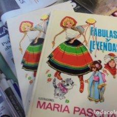 Libros de segunda mano: FABULAS Y LEYENDAS 12 - MARIA PASCUAL - TORAY 1971 - ENVIO GRATIS - INMACULADO !!!!. Lote 101949223