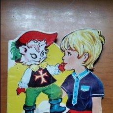 Libros de segunda mano: CUENTO TROQUELADO VILMAR. EL GATO CON BOTAS. 1972. Lote 102424671
