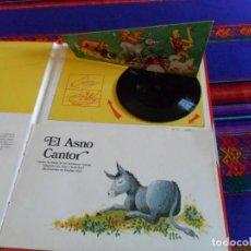 Libros de segunda mano: CON EL DISCO Y LA AGUJA. EL CUENTO SONORO, EL ASNO CANTOR. EDICIONES STOCK 1977. RARO. . Lote 102684967
