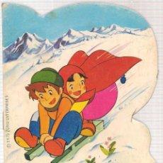 Libros de segunda mano: CUENTO TROQUELADO. HEIDI EN EL ALUD. BRUGUERA. (Z/C10). Lote 102730867