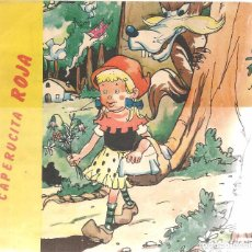Libros de segunda mano: CUENTO. CAPERUCITA ROJA. EDICIONES PUNTO 1971. (Z/C8). Lote 102769783