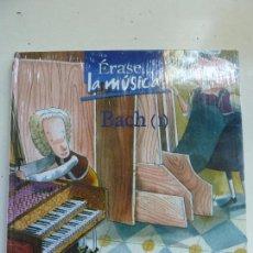Libros de segunda mano: ÉRASE LA MÚSICA. BACH I. CUENTO + CD MÚSICA. SIN ABRIR. PRECINTADO. Lote 102772455