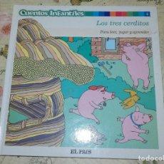 Libros de segunda mano: LIBRO - INFANTIL - CUENTOS INFANTILES - LOS TRES CERDITOS. Lote 102947607
