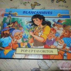 Libros de segunda mano: LIBRO - INFANTIL - DESPLEGABLE - POP-UP FAVORITOS - BLANCANIEVES - ILUSTRA JOHN PATIENCE. Lote 102949083